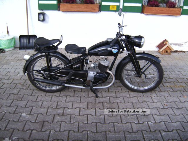 NSU  ZDB 125 1949 Vintage, Classic and Old Bikes photo