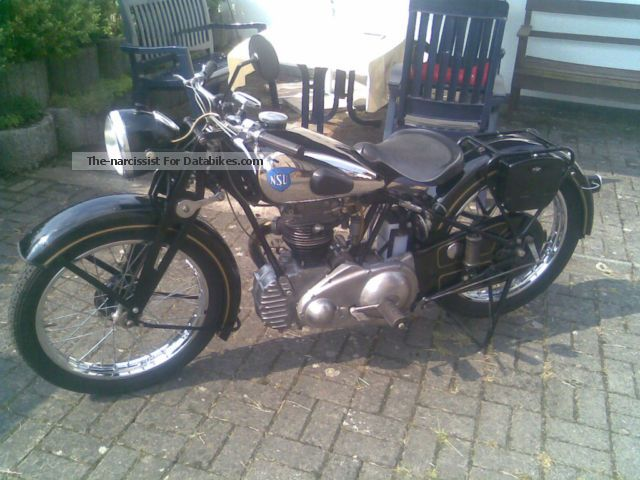NSU  251 OSL 1951 Vintage, Classic and Old Bikes photo