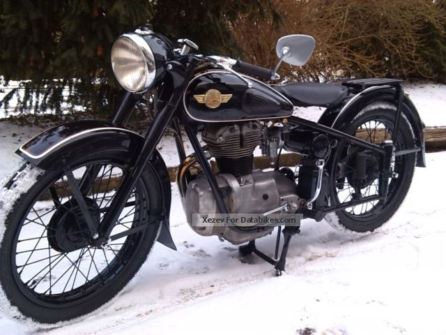 Simson  AWO T 1957 Vintage, Classic and Old Bikes photo