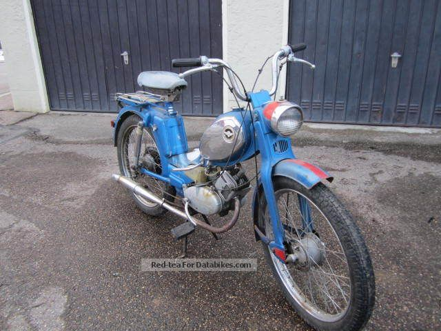 1975 Zundapp  Zündapp 25 climbers Motorcycle Motor-assisted Bicycle/Small Moped photo