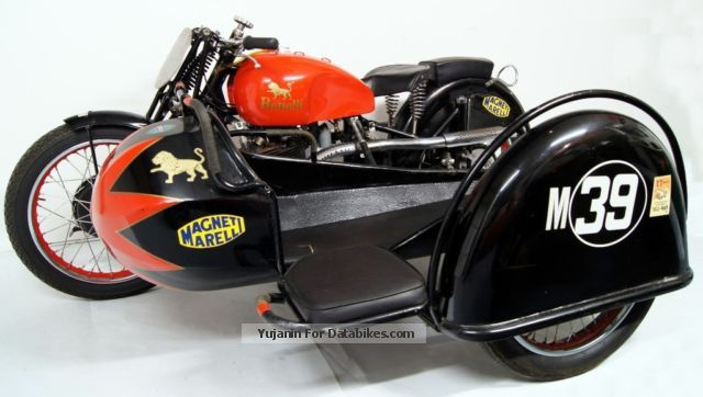 Benelli  500 OHC Sports Sidecar 1937 Racing photo