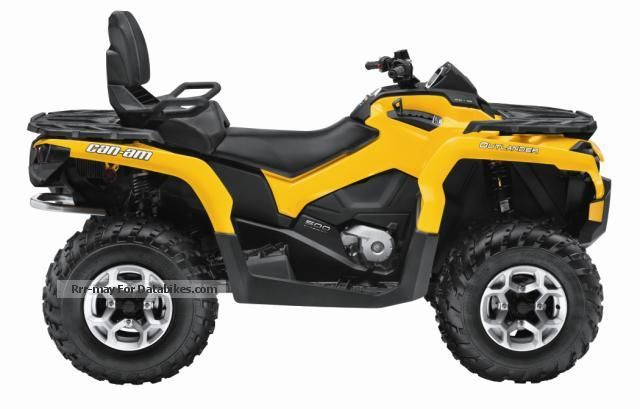 2012 Can Am  Outlander MAX 500 DPS Parthen Powersports Motorcycle Quad photo