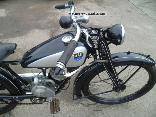 NSU  Quick 1936 Vintage, Classic and Old Bikes photo