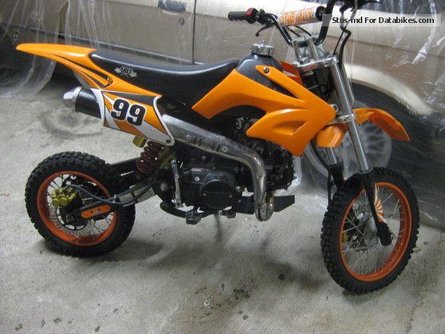 2010 Zhongyu  125cc Youth Cross Motorcycle Dirt Bike photo