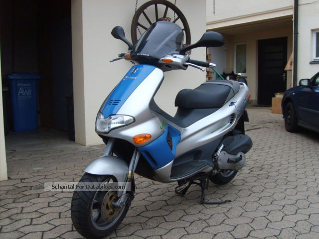 1989 Gilera  Runner 125 FX Motorcycle Scooter photo