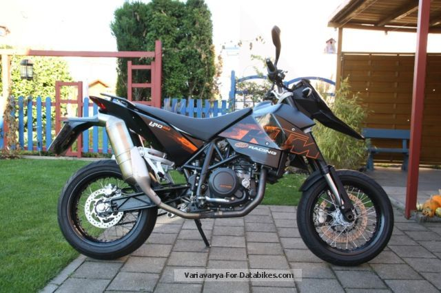 2008 KTM  690 sm Motorcycle Super Moto photo
