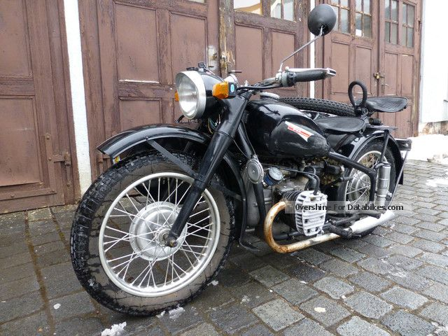2007 Ural  CJ 750 SV 750cc bike with German automotive letter Motorcycle Combination/Sidecar photo