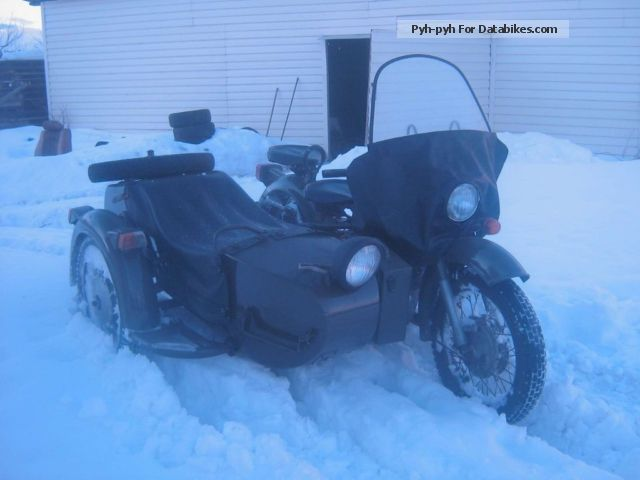 1960 Ural  650 mb Motorcycle Combination/Sidecar photo