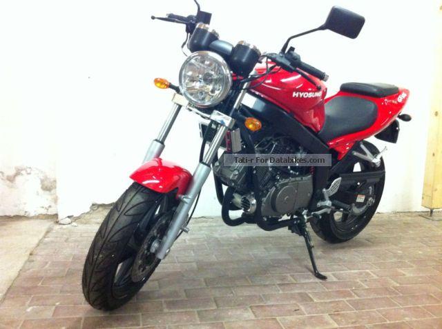 Présentation de la moto 125 Hyosung 125 GT Naked