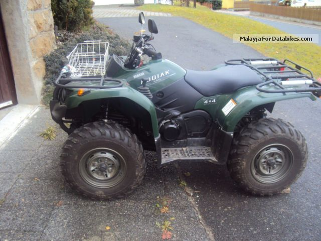 quad yamaha kodiak 450 4×4