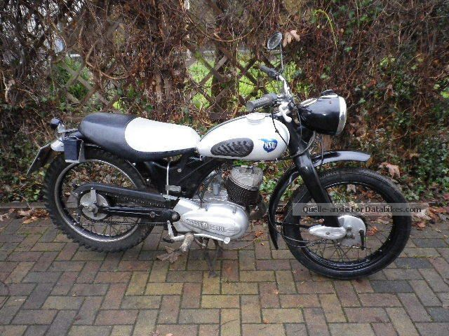 1951 NSU  Lux 201 ZD Motorcycle Motorcycle photo