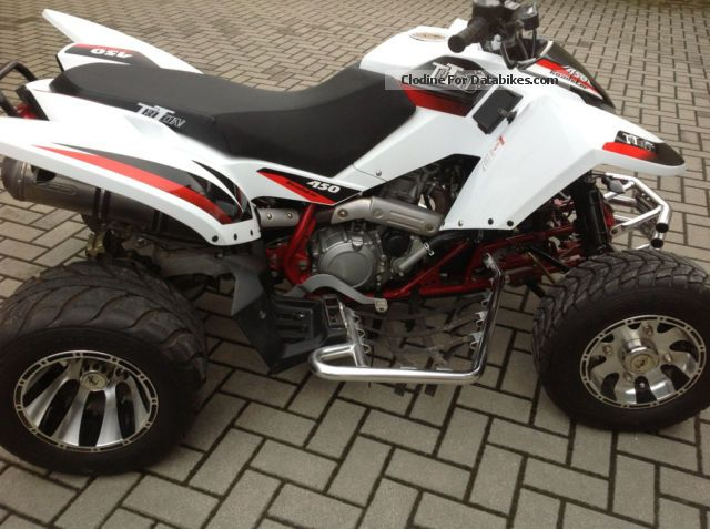 2010 Triton  450 Motorcycle Quad photo