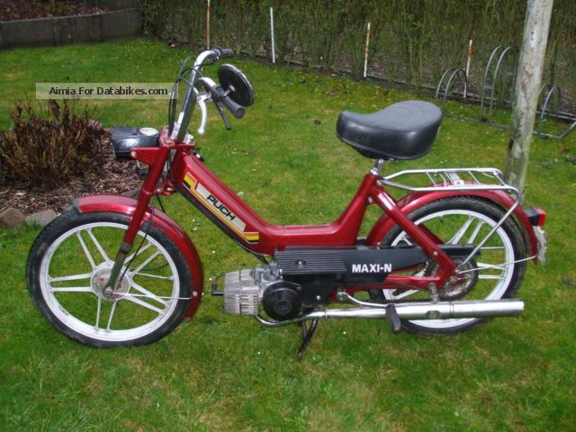 1992 Puch  Maxi N Motorcycle Motor-assisted Bicycle/Small Moped photo