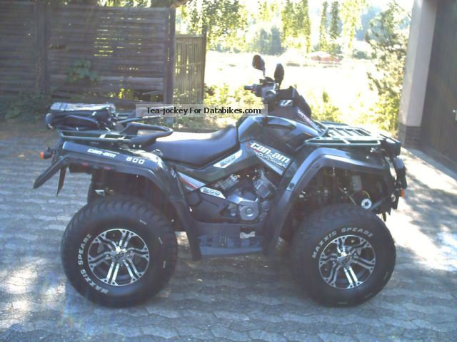 Bombardier  CAN AM800Outländer 2008 Quad photo