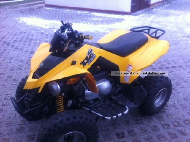 2007 Bombardier  DS 250 Motorcycle Quad photo