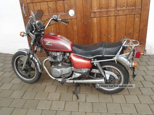 1981 Honda  400 cm Motorcycle Chopper/Cruiser photo