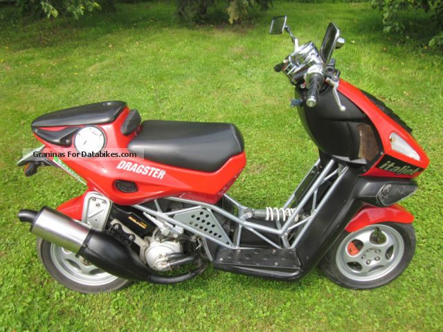 1999 Italjet  Dragster Motorcycle Scooter photo