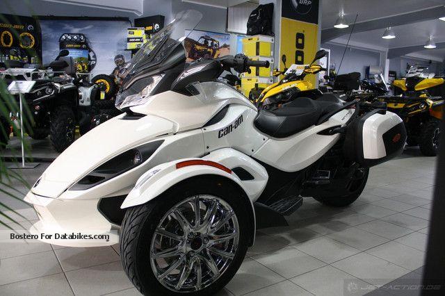 2012 BRP  Can-Am Spyder SE5 LTD ST Motorcycle Quad photo