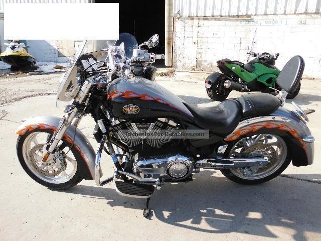 2006 VICTORY  KingPin Motorcycle Chopper/Cruiser photo