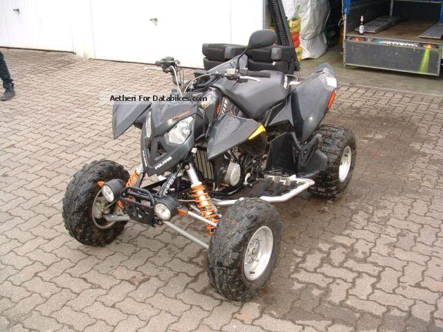 2009 Polaris  outlaw 525 Motorcycle Quad photo