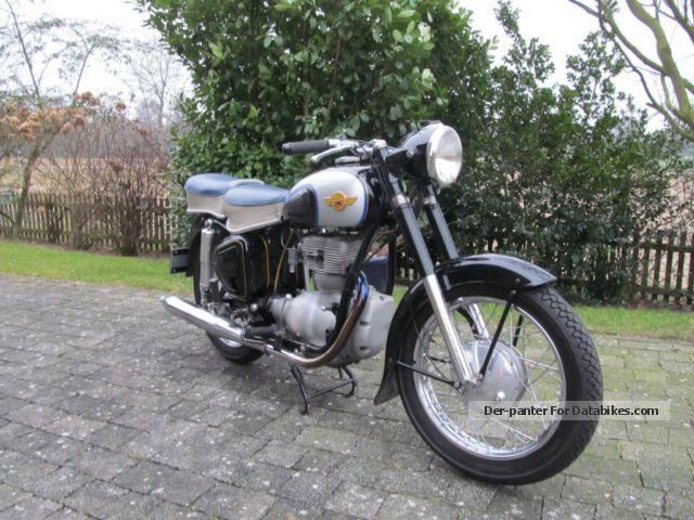 Simson  425 S 1957 Vintage, Classic and Old Bikes photo