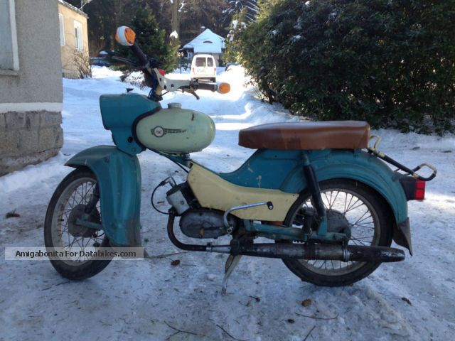 Simson  SR 4-2/1 1974 Vintage, Classic and Old Bikes photo