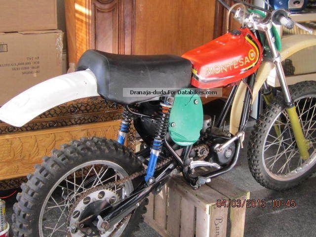 1976 Husqvarna  Vintage Montesa cross 250 Cappra Twinshock 1976 Motorcycle Dirt Bike photo