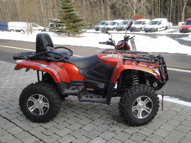 2012 Arctic Cat  700 XT long wheelbase with power Motorcycle Quad photo