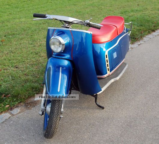 1955 Maico  MAICOLETTA 250 - collector's car Motorcycle Scooter photo