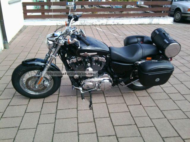 2012 Harley Davidson  Harley-Davidson Sportster 1200 Costom Motorcycle Chopper/Cruiser photo