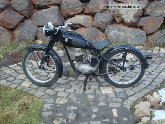 DKW  RT 125 1952 Vintage, Classic and Old Bikes photo