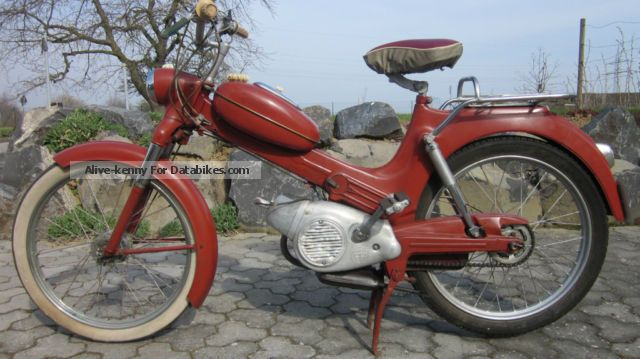 DKW  PUCH MS 50 L 1958 Vintage, Classic and Old Bikes photo