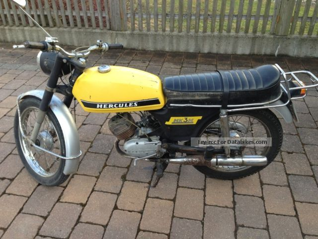 1973 Hercules  MK 3 M Motorcycle Motor-assisted Bicycle/Small Moped photo