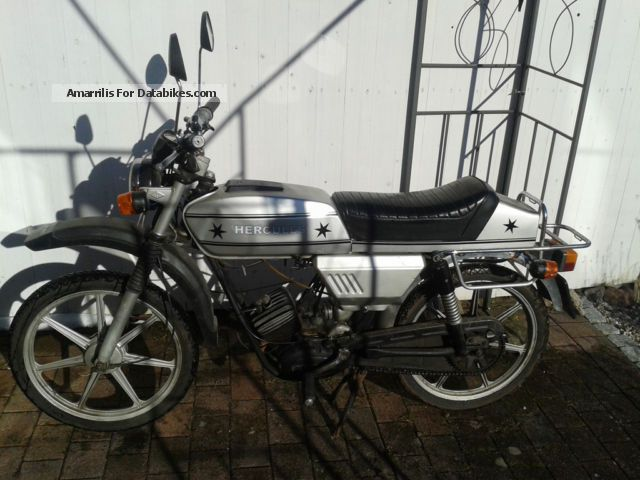 1980 Hercules  G3 Motorcycle Motor-assisted Bicycle/Small Moped photo
