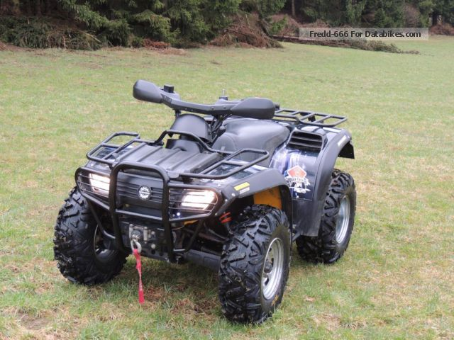 2001 Bombardier  Traxter 500 Motorcycle Quad photo