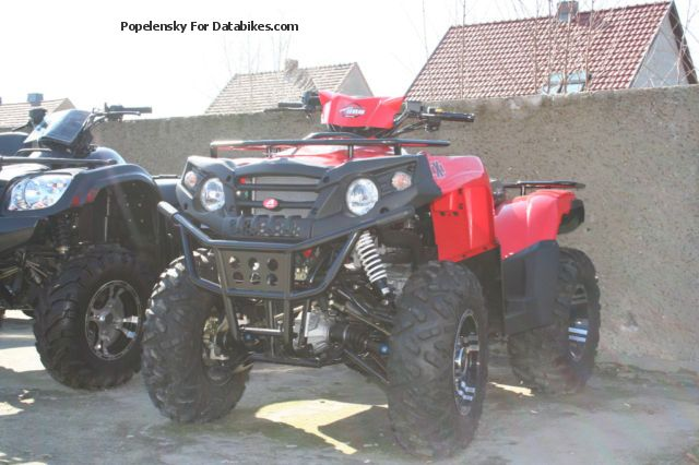 2013 Aeon  Cross Country 4x4 red Motorcycle Quad photo