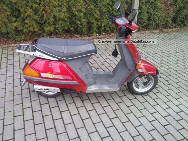 PGO  Star 50 1998 Scooter photo
