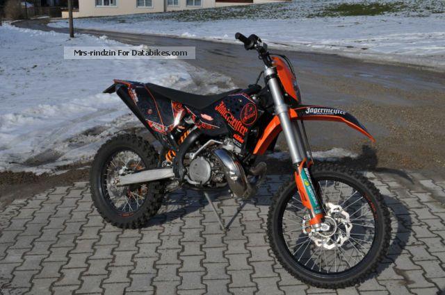 2010 KTM  EXC 250 Motorcycle Enduro/Touring Enduro photo