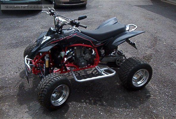 2010 Gasgas  Wild HP 450 Racing Supermoto Motorcycle Quad photo