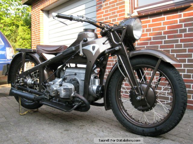 Zundapp  Zündapp KS 600 1940 Vintage, Classic and Old Bikes photo