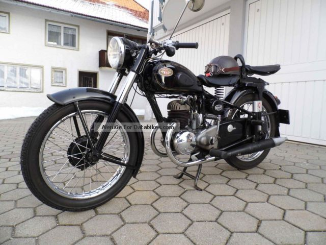 Zundapp  Zündapp DB 200 Comfort 1953 Vintage, Classic and Old Bikes photo