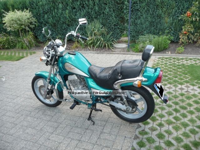 1999 Hyosung  Crousier II Motorcycle Chopper/Cruiser photo