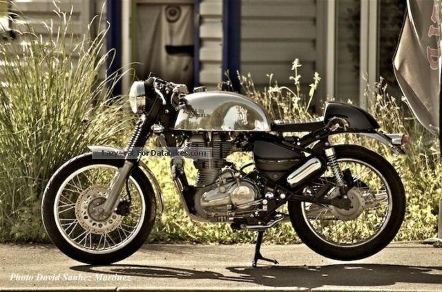 2012 Royal Enfield  EFI Bullet Café Racer Motorcycle Motorcycle photo