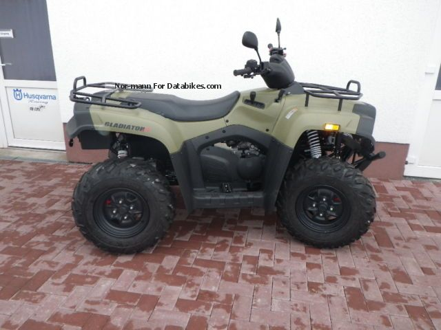 2012 Cectek  Gladiator IX 500 EFI new car \ Motorcycle Quad photo