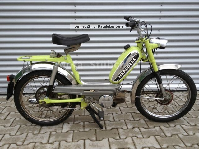 Hercules  M4 automatic scooter / 1.Hand / original condition 1975 Vintage, Classic and Old Bikes photo