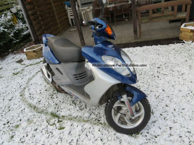 2002 SYM  Shark 125 Motorcycle Scooter photo