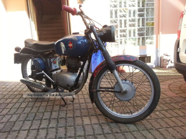 1956 Gilera  150 SS Motorcycle Motorcycle photo