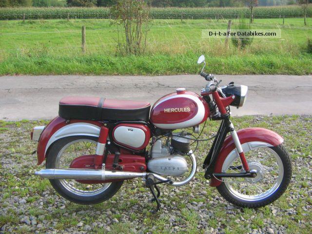 1959 Herkules  k101 Motorcycle Lightweight Motorcycle/Motorbike photo