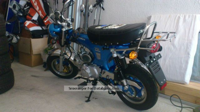 Skyteam  Skymax ST 125 RV and Camping streaker 2011 Motorcycle photo