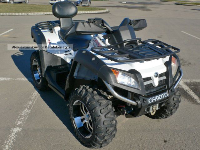2012 CFMOTO  X8 Luxury 2012 Second Hand Motorcycle Quad photo